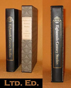 Details about 1st Ltd Ed 18th CENTURY STUDIES Quarto HYDE JOHNSON Fine  Binding Slipcase