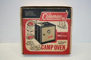 Vintage Coleman Camp Oven 5010A 700 Used Good Condition In Box