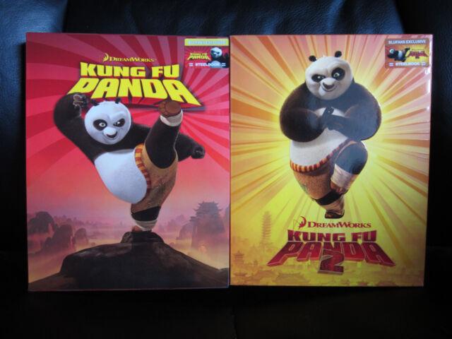 Kung Fu Panda 1 2 Blu Ray Steelbook Blufans For Sale Online Ebay