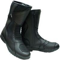 Oxford Cherokee Waterproof Motorcycle Boots Mens Size 42/8.5