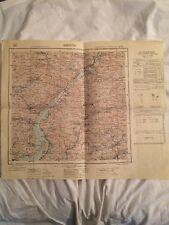 Cartina Militare Comune Di Breno (bs) Anno 1938