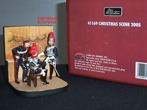 Britains 41169 Horseguards Au Bar Collectionneurs Scène De Noël 2005 Set 36881411697