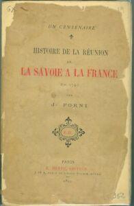 J-Forni-Histoire-de-la-reunion-de-la-Savoie-a-la-France-en-1792-Ex-sur-JAPON