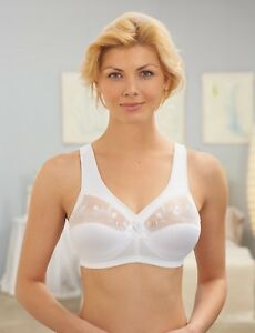NEW-GLAMORISE-BRA-msrp-45-Embroidery-WIDE-PADDED-STRAPS-10-Spandex-CLEARANCE