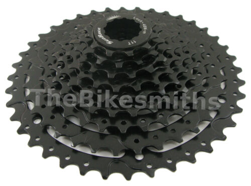 SunRace CSM980 9 Speed 11-40  Silver or Black Bike Cassette fit Shimano SRAM 1x