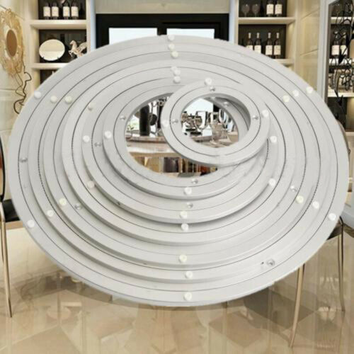"Lazy Susan 5-16/"" Aluminium Rotating Bearing Turntable Round Swivel Plate Kitchen"