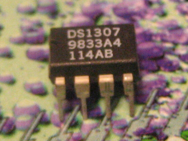 10PCS I2C Real-Time Clock IC DALLAS SOP-8 DS1307ZN DS1307ZN DS1307N DS1307N+