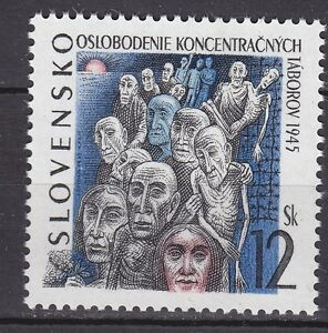 SLOVAKIA-1995-MNH-SC-214-The-Concentration-Camps