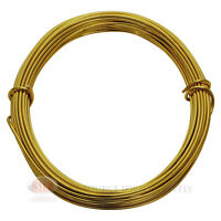 39 Ft Light Gold Aluminum Craft Wire 12 Gauge Jewelry Making Beading Wrapping