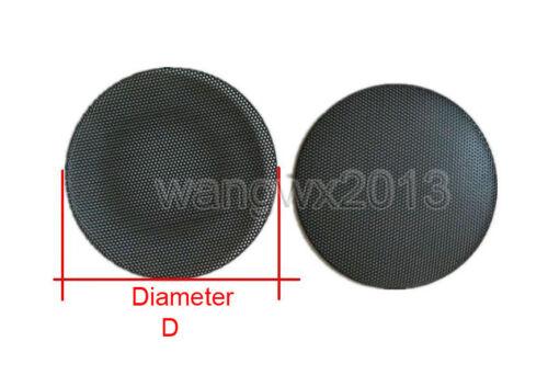 1PC 99//100.5//116//118mm Tweeter Speaker Cover Decorative Circle Metal Grille Mesh