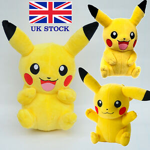 Pokemon-Pikachu-Plush-Toy-Teddy-8-9-inch-UK-STOCK-BRAND-NEW-EXPRESS-SHIP