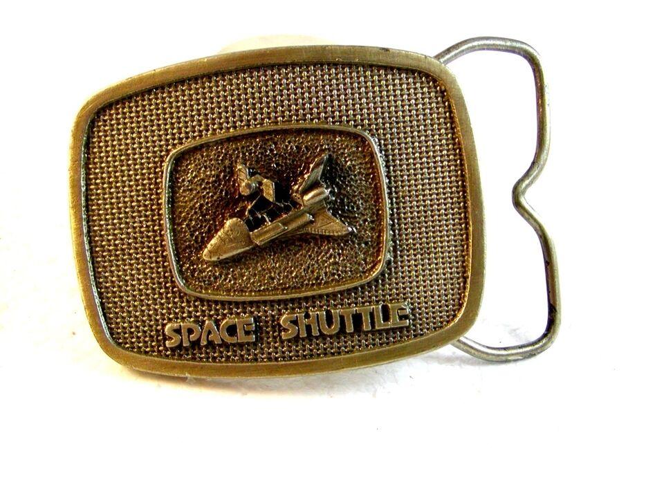 1981 Raum Shuttle Gürtelschnalle Von Schnalle Connection