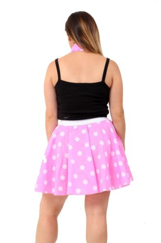 1950/'s//1960/'s Style Ladies Women Polka Dot or Plain Rock N Roll Poodle Skirt