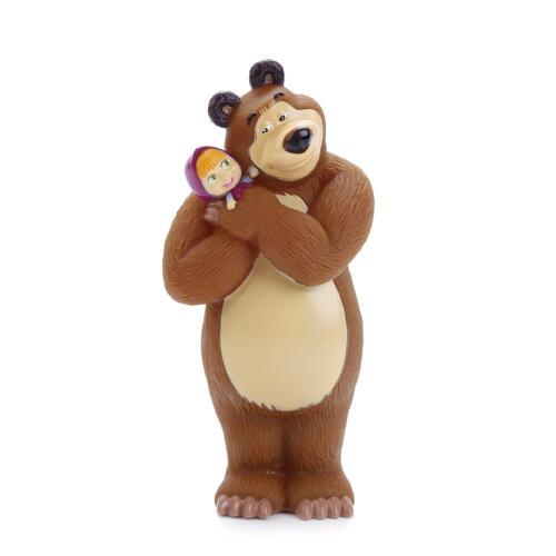 Masha Russian cartoon toy rubber 14 cm NEW Masha and the Bear bath toys