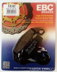 EBC Organic REAR Disc Brake Pads Fits KAWASAKI KR1 / KR1S (1989 to 1992)