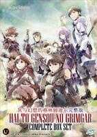 DVD Japan Anime Hai To Gensou No Grimgar Complete Series (1-12 End) English Sub