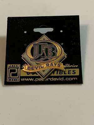 mlb licensed tampa bay devil rays baseball grid logo pin by peter david ebay ebay