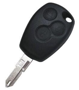 Coque-De-Cle-Compatible-Renault-3-Boutons-Clio-Avantime-Sandero-Logan