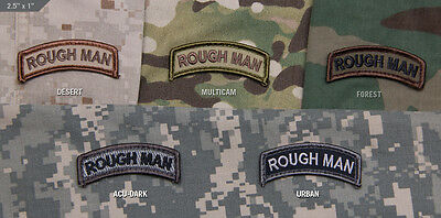 Mil Spec Monkey MSM Rough Man Patch-Multicam-Woodland-Desert-SWAT-ACU