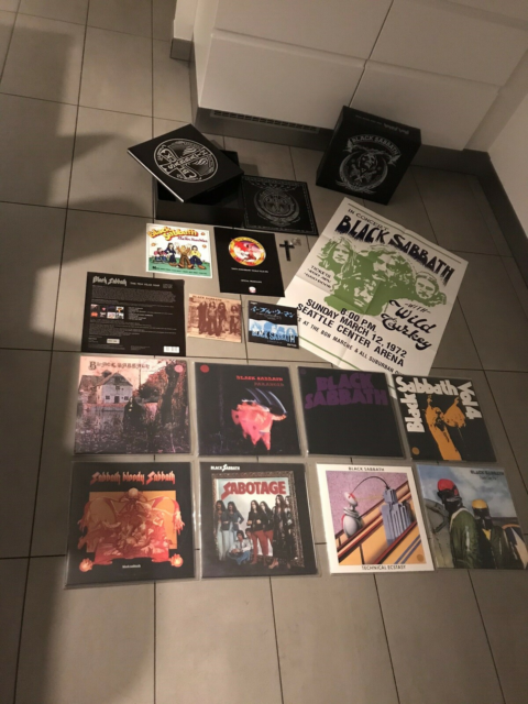 LP, Black Sabbath, The ten year war, Dette er en nummereret…