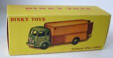 Repro Box Dinky Nr.33 A Fourgon Simca Cargo