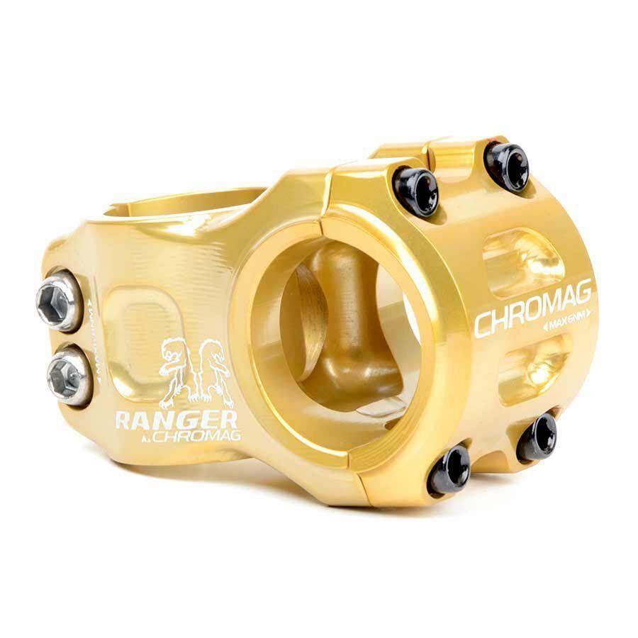Chromag Ranger V2 Stem 1-1 8 gold 50mm x  31.8mm Bike  manufacturers direct supply