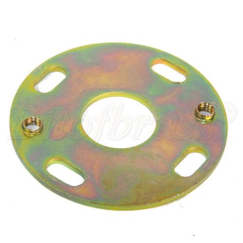 Steel Passivated Zinc Ceiling Besa Plate 64mm Diameter for Chandelier Mounting