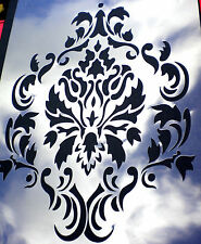 high detail airbrush stencil damask three pattern FREE UK POSTAGE