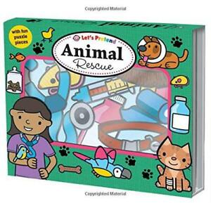 Animal-Rescue-Let-039-s-Pretend-by-Roger-Priddy-NEW-Book-FREE-amp-Fast-Delivery