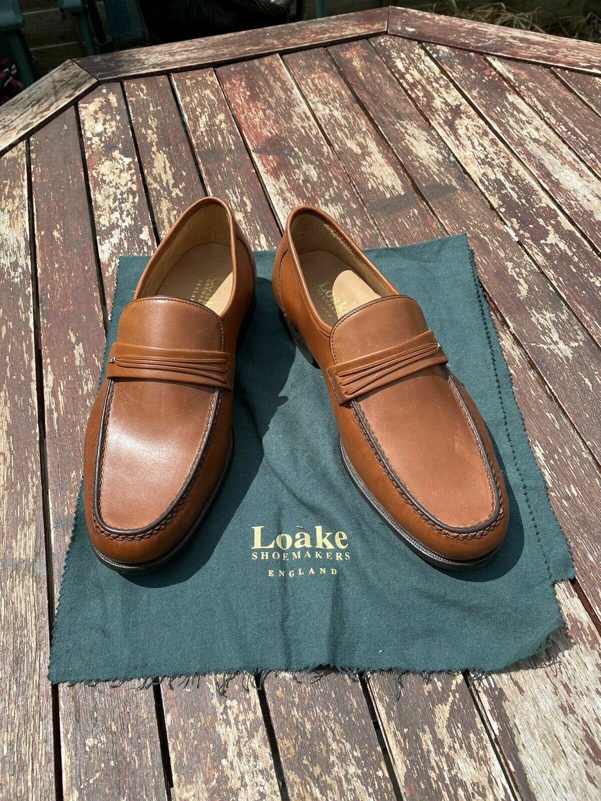 LOAKE Mens Palermo ** Slip-On - Loafer - Driving Shoes ** UK 8.5 / US 9.5 G