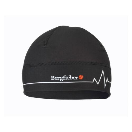Bergfieber Mütze PLANE 1 Stück Größe S//M schwarz