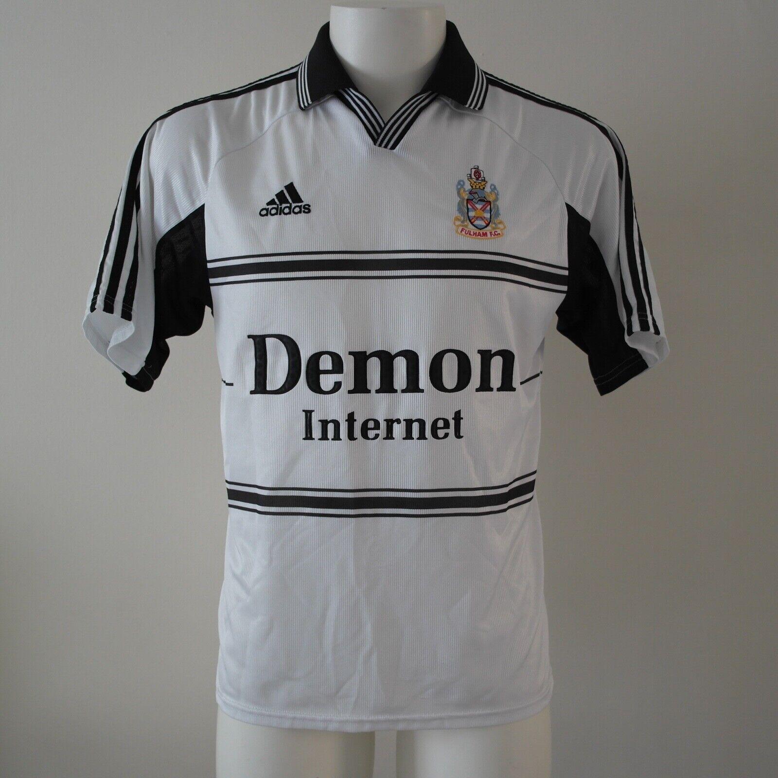 Fulham Vintage Calcio Maglia JerseyADIDAS 199920002001