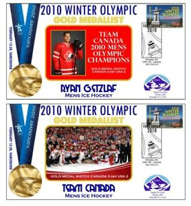 RYAN GETZLAF CANADA 2010 OLYMPIC ICE HOCKEY GOLD Cvs