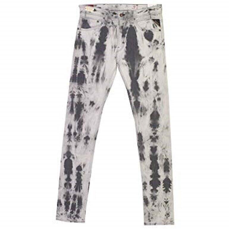 REPLAY Herren Jeans Hose JONDRILL Skinny MA 931C Stretch grau batic grau 33 34