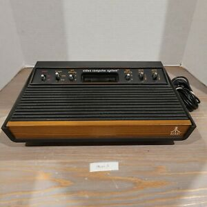 Atari-2600-Console-Only-6-Switch-System-Retro-Vintage-Video-Game-NO-AC-ADAPTER
