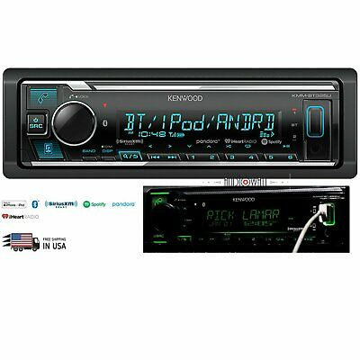FRONT USB// AUX IN KENWOOD KMM-BT325U MOSFET BLUETOOTH DIGITAL STEREO RECEIVER