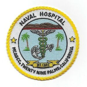 Details about NAVAL HOSPITAL TWENTY NINE 29 PALMS CA CALIFORNIA PATCH  STUMPS USMC MARINE BASE