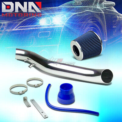 DNA MOTORING ITK-0073-BL Blue Air Intake+Filter System for 90-93 Acura Integra