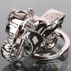 Fashion Men Cool Motorcycle Pendant Alloy Keychain Car Key Ring Key Chain B88U