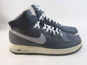 Nike Air Force 1 High Obsidian/Wolf Grey-White 315121-404 Size 11.5