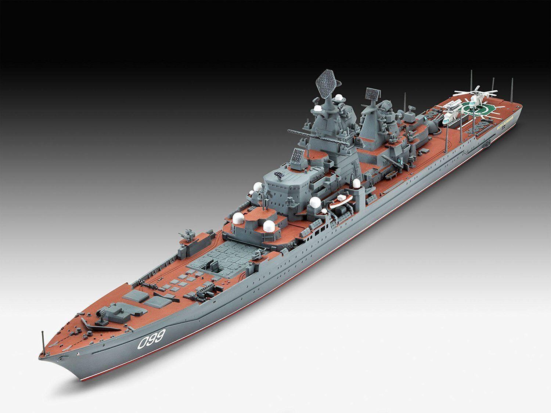 Battlecruiser Petr Velikiy, Revell Ship Model Kit 1 700, 05151