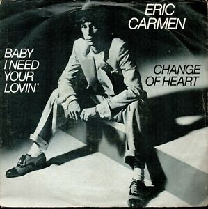19393 ERIC CARMEN CHANGE OF HEART - Italia - 19393 ERIC CARMEN CHANGE OF HEART - Italia