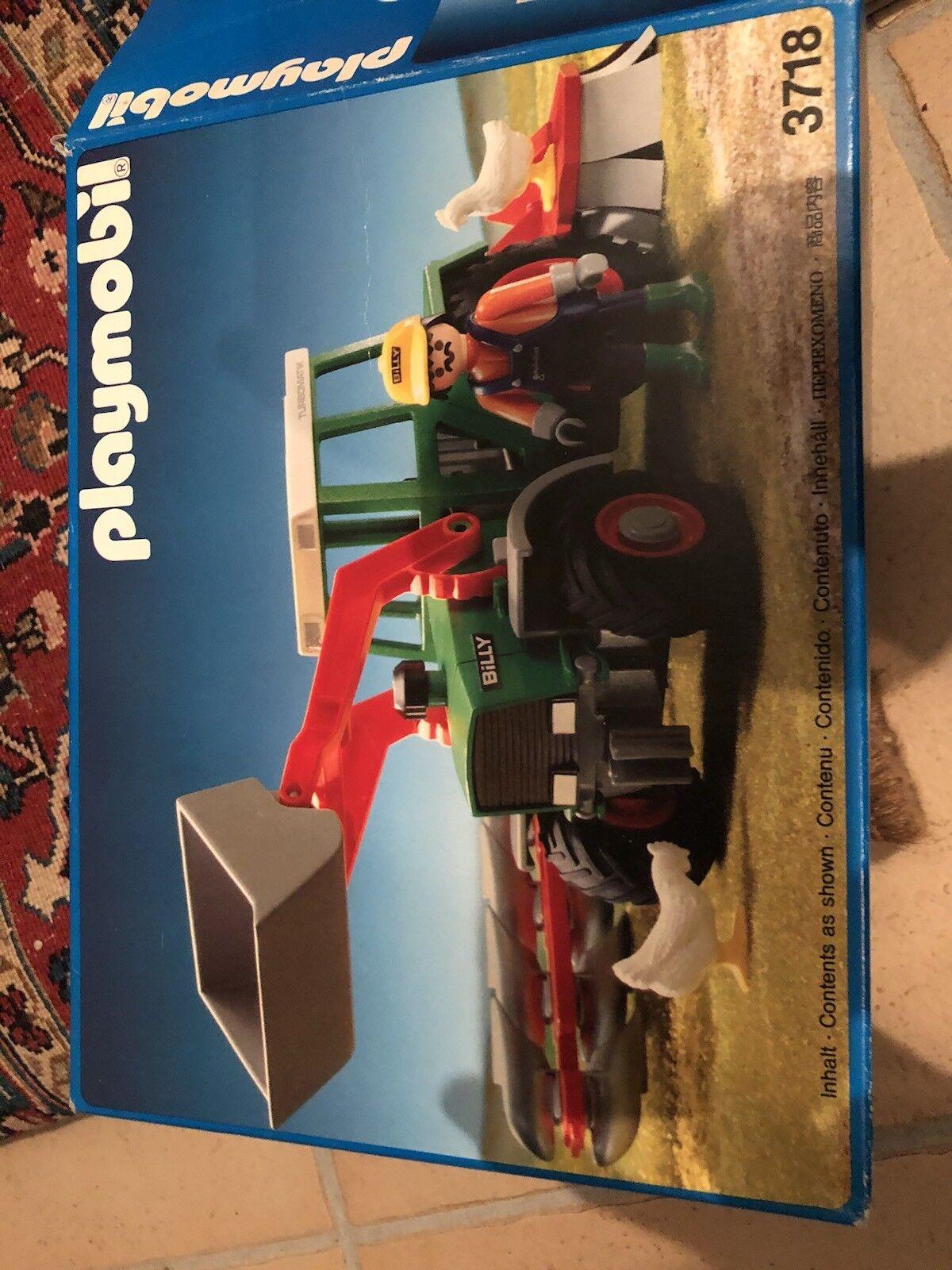 Playmobil 3718 OVP RARITÄT Traktor Mähdrescher