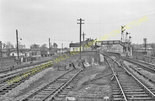 Brackley Line. Charwelton 10 Culworth Woodford Halse Railway Station Photo