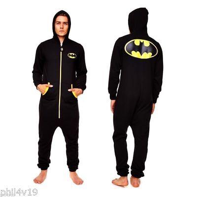 Bellissimo Batman Tuta-all In One (uomo Onsie Onesy Onzie Bat Man Abbigliamento Super)-mostra Il Titolo Originale Grande Assortimento
