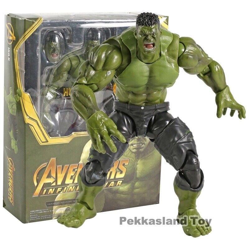 SHF SHFiguarts Hulk Avengers Infinity Infinity Infinity War PVC Action Figure Collectible ToyModel 50bbe2
