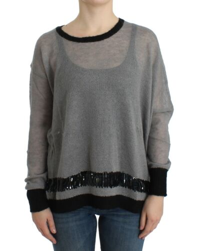 Strikket Ny Udsmykket Costume C'n'c us6 National Jumper Sweater S 8032990533109 350 Grå 0Z6wq0