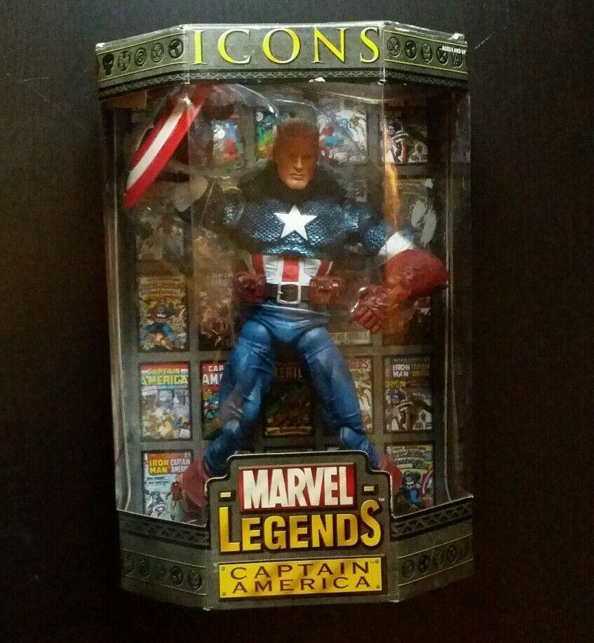 Marvel - legenden captain america entlarvt.
