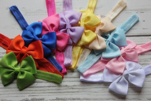 10pcs of toddler hair bow headband baby girl hairband infant accessory US seller
