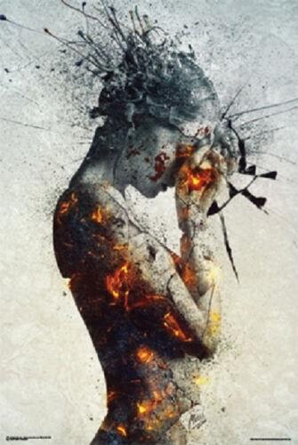 Deliberation Poster by Mario Sánchez Nevado 24x36